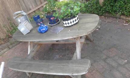 Outdoor dining setting   Outdoor Dining Furniture   Gumtree ...