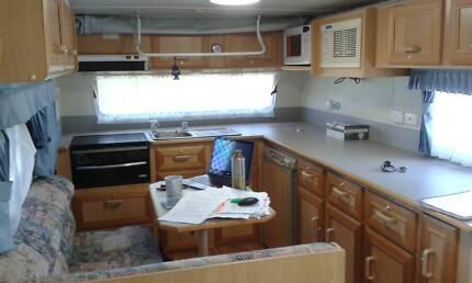 2004 Millard Pop Top Caravan 15Ft - with Safety Certificates