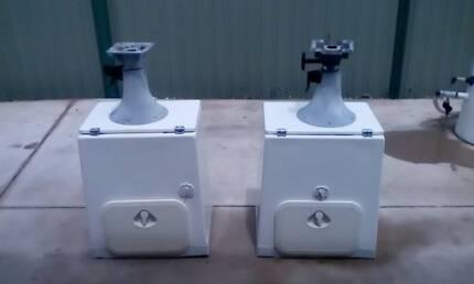Fibreglass seat boxes