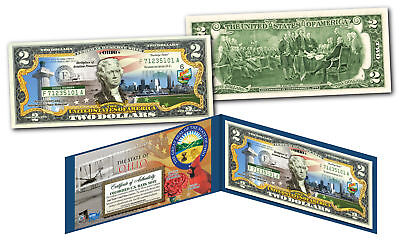 OHIO Genuine Legal Tender $2 Bill USA Honoring America's 50 States