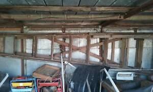 Large wooden ladder 8ft Wangaratta Wangaratta Area Preview