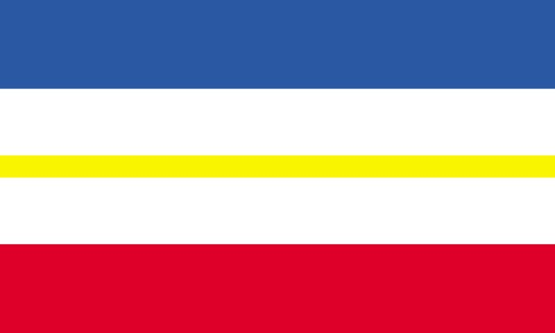 NEW 3ftx5ft MECKLENBURG WESTERN POMERANIA FLAG