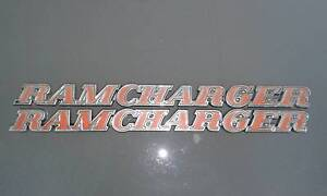 Dodge *RAMCHARGER* badges. Excellent original condition..... Good Shelley Canning Area Preview