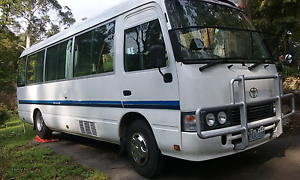 Toyota Coaster Motorhome Belgrave Yarra Ranges Preview