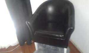 black tub chair Hamersley Stirling Area Preview