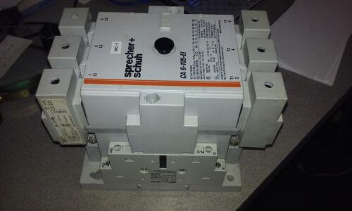 sprecher schuh ca 6-105-el contactor