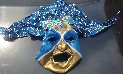 Brand new Kansas City Royals MLB Fan Face Mask Bandana Franklin Halloween NWT - Halloween Kansas City