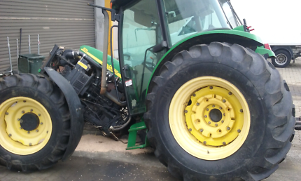Wrecking tractors for parts, tyres, weights etc
