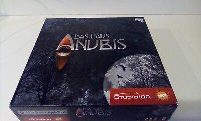 Studio 100 Das Haus Anubis Brettspiel, ab 8 Jahren  2-4 Spieler  (Das Papier Studio)