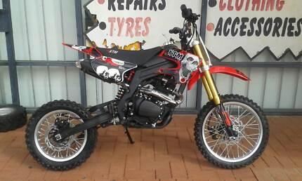 BRAND NEW* XTM 200CC 4 STROKE 5SP DIRT BIKE*FREE HELMET* Malaga Swan Area Preview