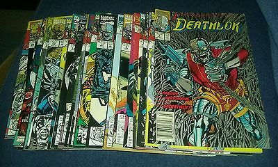 Deathlok 1-8 10-26 28 annual comics lot marvel run set movie collection tv show