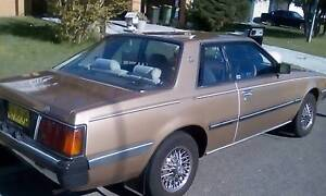 1984 Mitsubishi Sigma Coupe The Entrance North Wyong Area Preview
