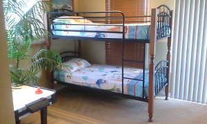 Modern Bunks + Mattresses convert to 2 x single beds. Rosebud Mornington Peninsula Preview