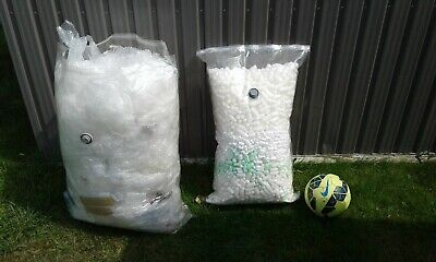 USED BUBBLE WRAP & POLYSTYRENE PACKING PEANUTS
