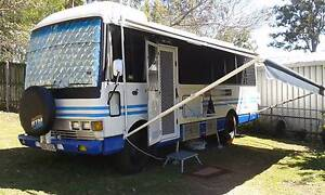 Free Camping Motorhome Hino Rainbow RB145 Eagleby Logan Area Preview