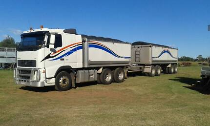 Volvo truck tipper and Quad Dog tipper, with introduction to work North Ward Townsville City Preview