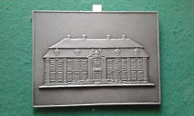 Buderus Eisenguss Platte Berlinmuseum / Kammergericht  Eisen Kunstguss 1978 (Kunst Eisen)