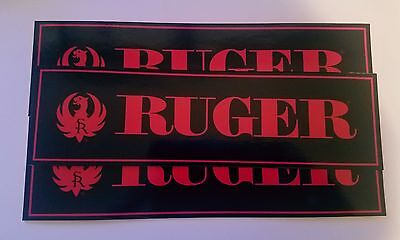 3 Ruger stickers Gun Logo Vinyl Sticker Decal Laptop Truck Firearm