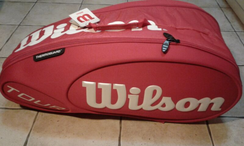 Wilson tour molded 9pk bag red mod. WRZ843309