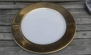 Gold Edged Monno Porcelain Country Road Plates $50 set of 4 Albion Brisbane North East Preview
