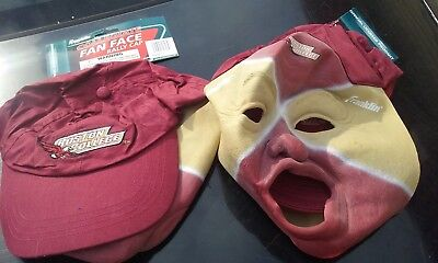 NCAA Boston College Golden Eagles Fan Face Mask with Hat Franklin Halloween - Miami Dolphins Halloween Jerseys