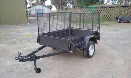 6x4 cage trailer