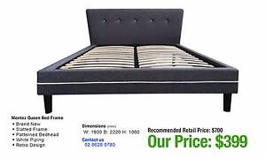 BED FRAMES - up to 80% OFF RRP Granville Parramatta Area Preview