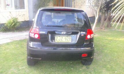 Hyundai Getz 2003 FX Auto Revesby Bankstown Area Preview