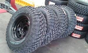 4X4 MUD & A/T TYRES & WHEELS - AUG SPECIALS FITTED PRICE!!! Archerfield Brisbane South West Preview