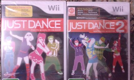 BRAND NEW JUST DANCE 1&2  BOTH FOR $20!!!! Macquarie Fields Campbelltown Area Preview