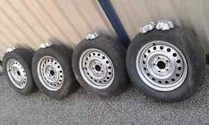 VS Commodore wheels bt1 Pursuit interceptor caps burnout wheel Margate Redcliffe Area Preview