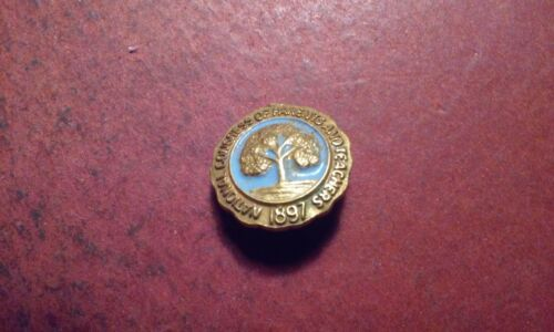 Vintage PTA Gold-Tone Brooch Pin National Congress of Parents and Teachers