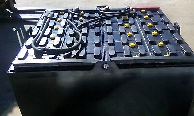 2014- 24-85-29 48 Volt Crown Forklift Battery Tested Serviced.