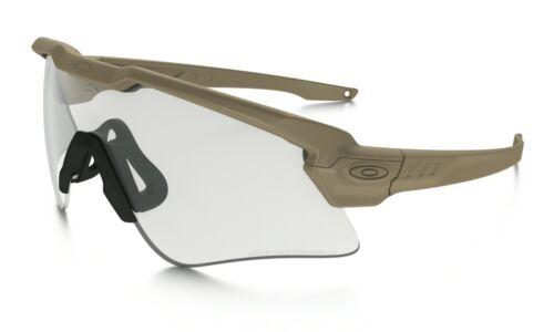 Oakley SI BALLISTIC M FRAME Sunglasses OO9296-1344 Tan W/ Clear Photochromic