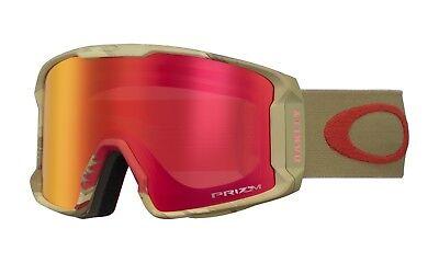 f8b4a90e93021 Oakley Line Miner Sammy Carlson Razor Camo Red Prizm Torch Snow Goggle  OO7070-32