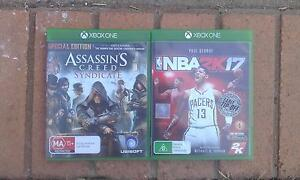 Selling NBA 2K17 & Assasin's Creed Syndicate Ipswich Ipswich City Preview