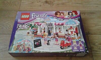 lego friends cupcake cafe 41119 Stephanie and Naomi new in box