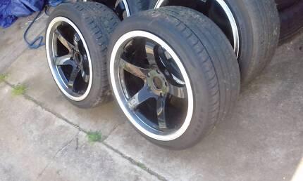 18x9.5 Hussla gt Wheels