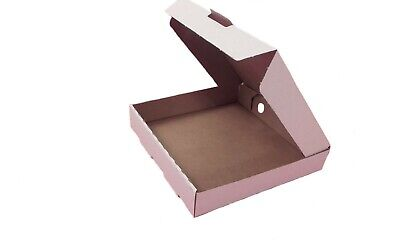10 inch strong white/brown pizza,takeaway,postal boxes 50's