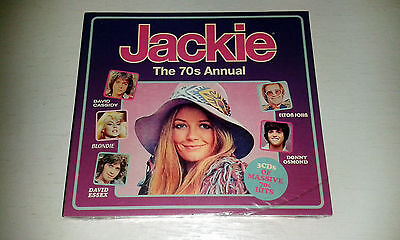 Jackie The 70's Annual 3CD SET: ELTON, ABBA, SLADE,BONEY M, DAVID SOUL ETC ETC..