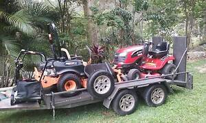 acreage & domestic mowers and trailer Tallebudgera Gold Coast South Preview