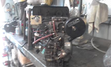 Kubota e stationary engine