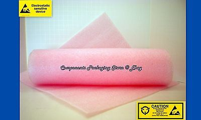 Cushion Foam Anti Static For Electronic Devices 18 X 12 X 12 - 10 Sheets