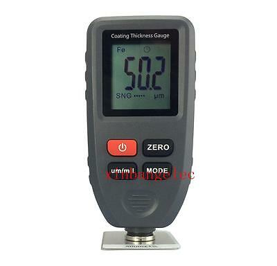 Paint Coating Thickness Meter Gauge Tester Auto Fnf Probes 01300um
