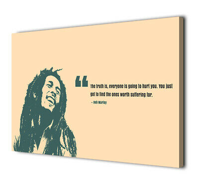 Art HD Print Home Décor Bob Marley Paintings Wall Poster Picture