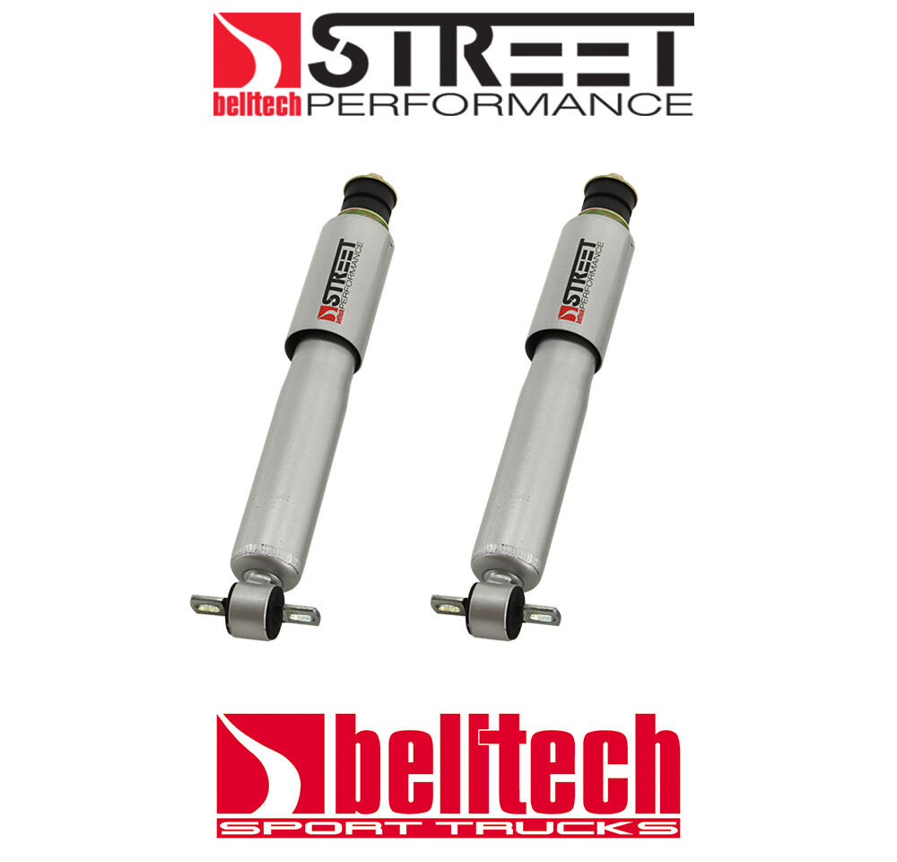 "Belltech Pair 84-95 Toyota Pickup Street Performance Front Shocks for 2/"" Drop"