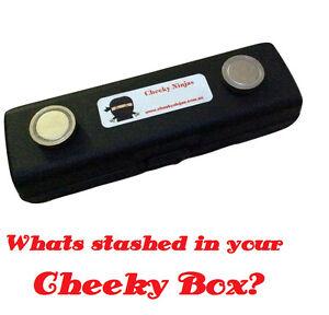 Magnetic Stash Box Car Diversion Safe Secret Storage Hidden Compartment Pipecase