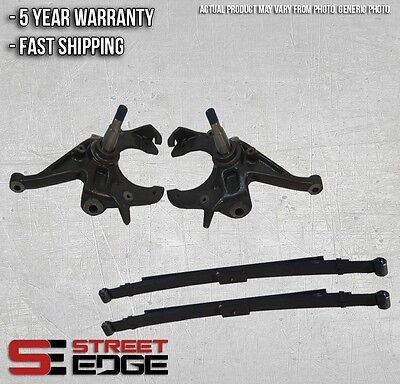 """82-04 S-10/S-15 Sonoma Reg Cab 4cyl 2WD 2"""" Front & 3"""" Rear Lowering Kit"""