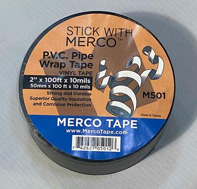 Merco M501 Pvc Pipe Wrap Tape - 2in X 100ft - 24 Rolls