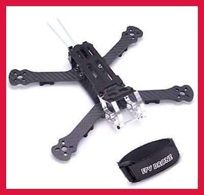 "230Mm FPV Racing Drone Formulate 5"" Carbon Fiber Quadcopter Kit 4Mm Arms & Lipo Batt"